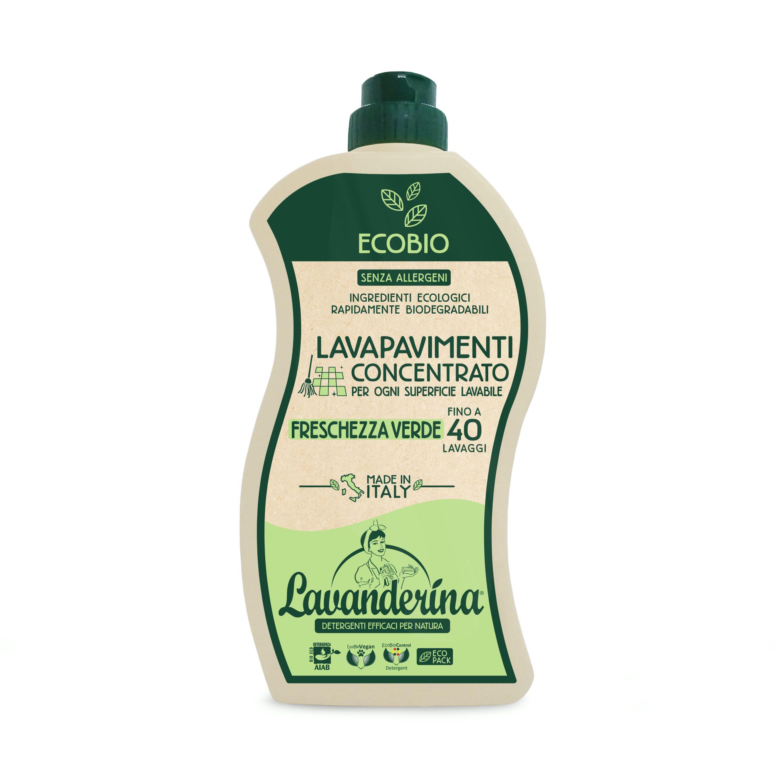 Lavapavimenti Freschezza Verde concentrato 1000mL